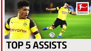 Jadon Sancho - Top 5 Assists So Far ...