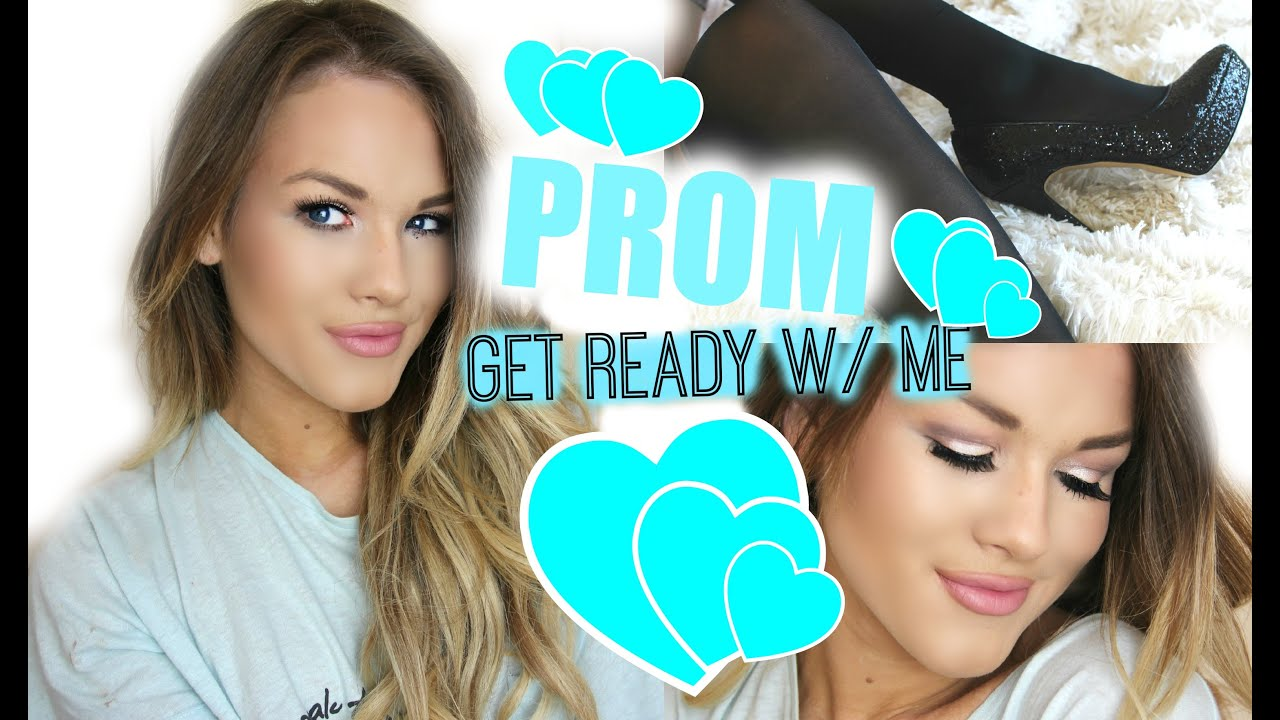 Get prom ready with me hair makeup dress - Prom Get Ready With Me Hair Makeup Dress