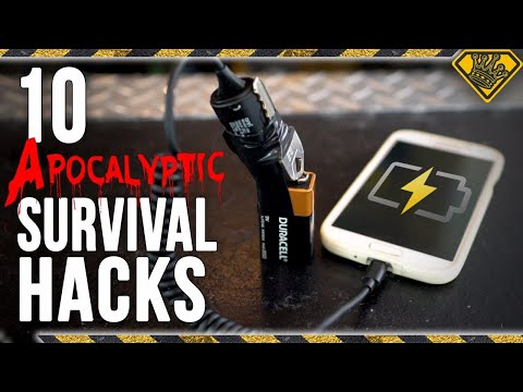10 Apocalyptic Survival Hacks