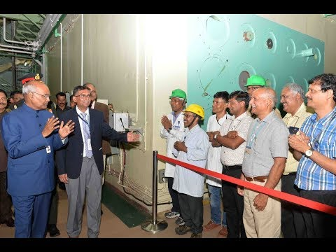 President Kovind visits Bhabha Atomic Research Centre