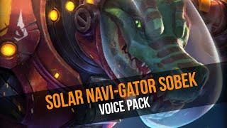 NEW Voice Pack - Solar Navi-gator Sobek