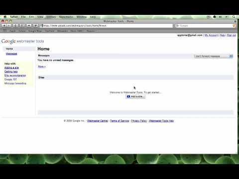 How to get your site listed in Google