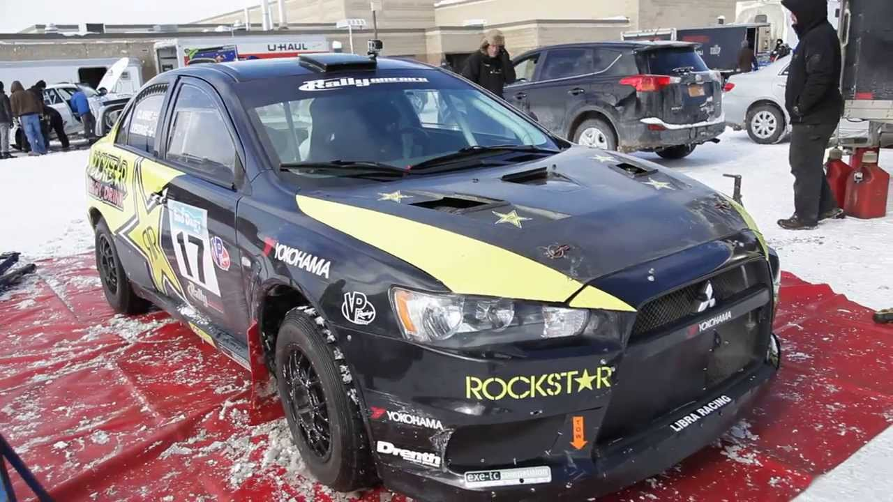 Evo X Rally Car Youtube