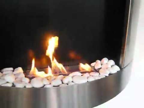 Bio cheminée STOCKHOLM LB Long Burner Inox