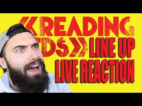 READING AND LEEDS FESTIVAL 2018 LINE UP ANNOUNCEMENT LIVE REACTION