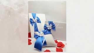 Свадебный комплект Gilliann Butterfly in Blue