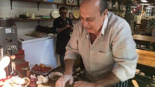 Gennaro making pasta live.
