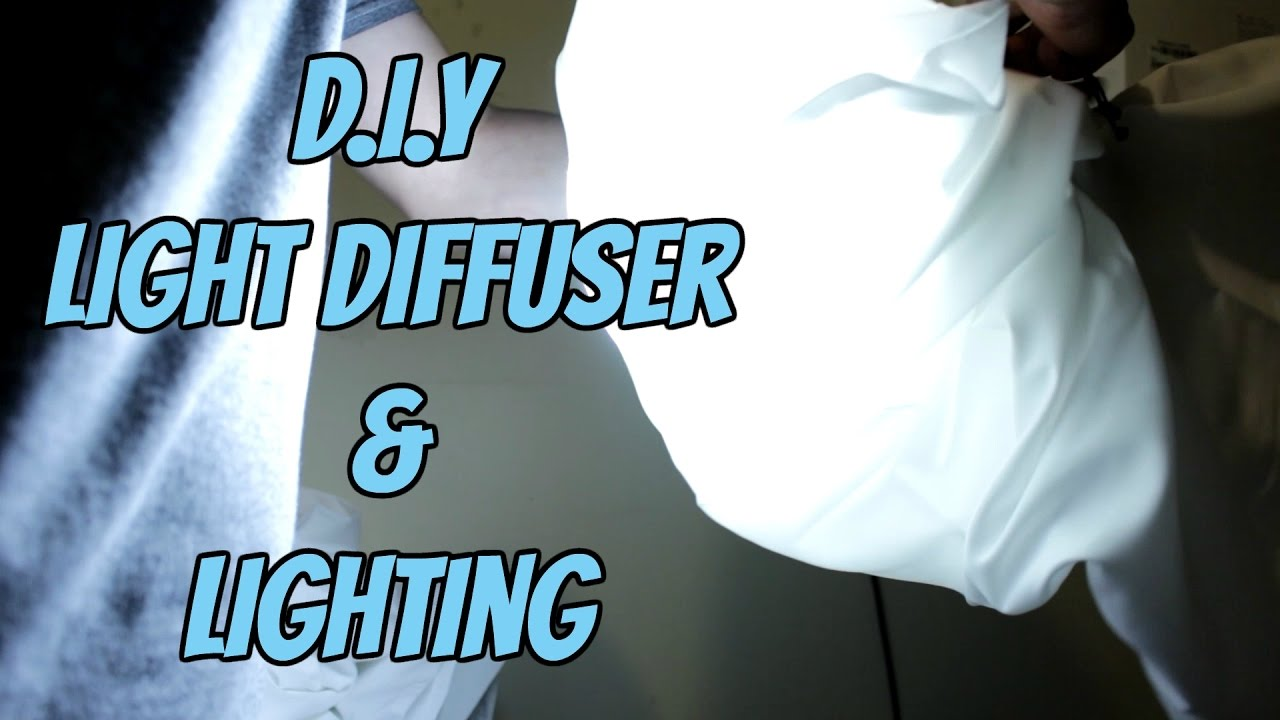 How to DIY Light diffuser and light box Mike Cortez