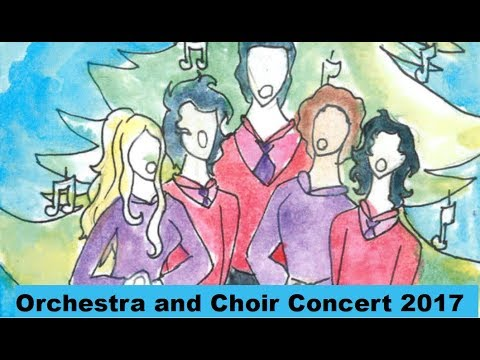 Presidio MIddle School 2017 Winter Orchestra and Choir Concert