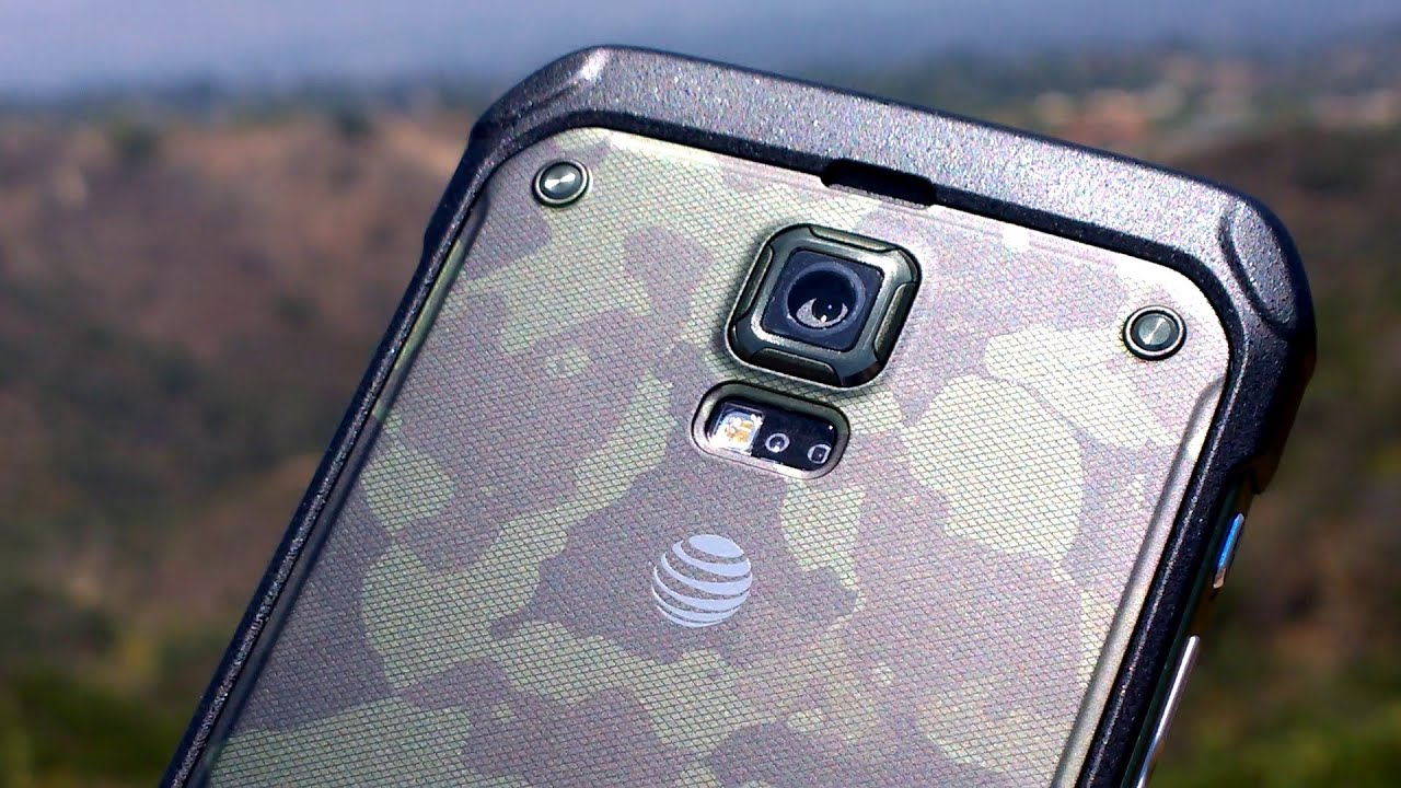 official photos 1e3db 4ee0c First Impressions! The Samsung Galaxy S5 Active on AT&T - Rugged and  Waterproof!