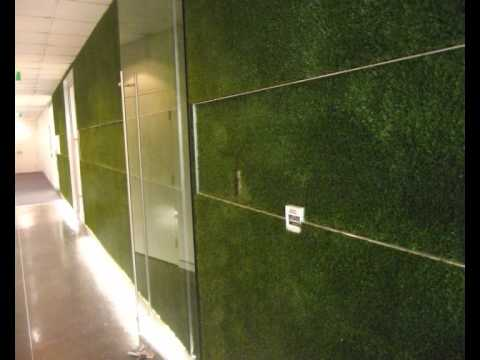 VertiGrass Wall And Ceiling Synthetic Grass Installation