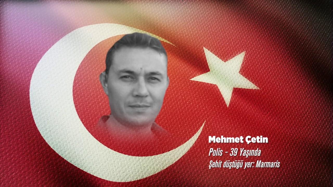 15 Temmuz Şehidi Mehmet Çetin