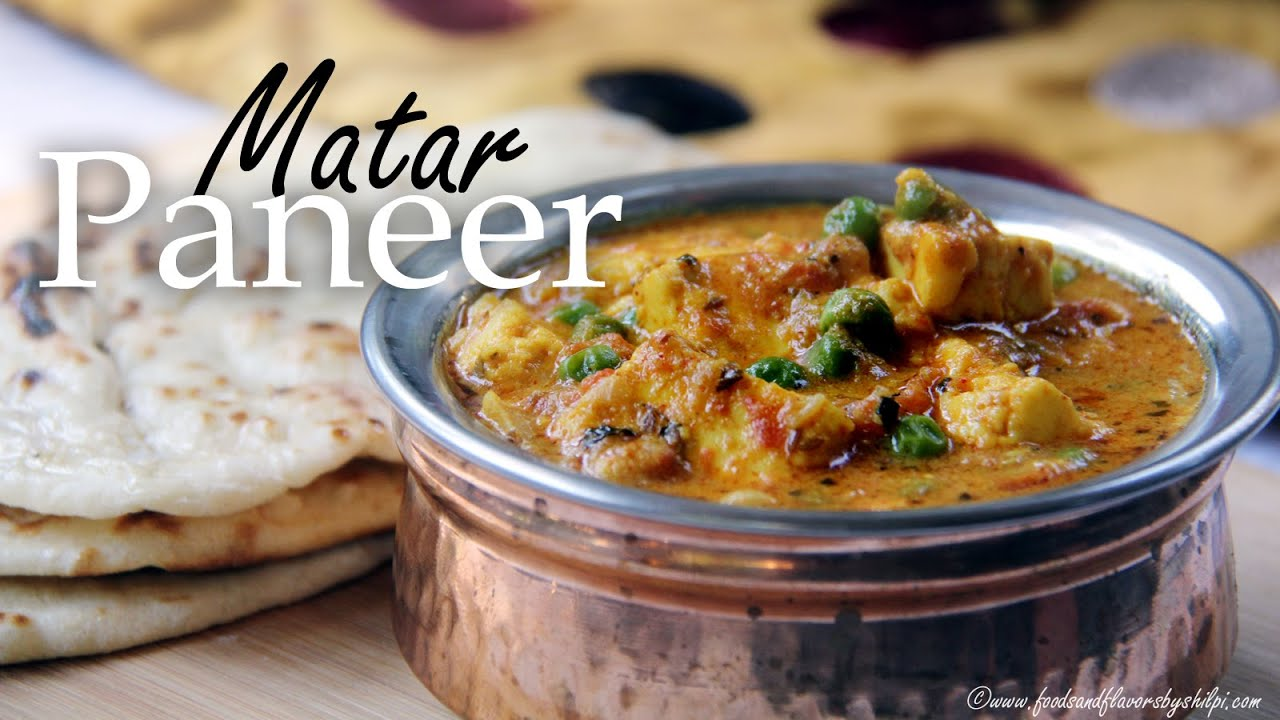 Matar paneer curry recipe restaurant style matar paneer indian matar paneer curry recipe restaurant style matar paneer indian lunch dinner recipe by shilpi youtube forumfinder Gallery