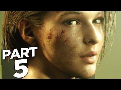 RESIDENT EVIL 3 REMAKE Walkthrough Gameplay Part 5 - BRAD VICKERS (RE3 NEMESIS)