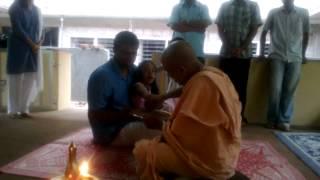 Swami Nirmalananda Giri വിജയദശമി വിദ്യാരംഭം സ്വാമിജിയുടെ സാന്നിദ്ധ്യത്തില്