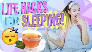 life hacks for when you can't fall asleep