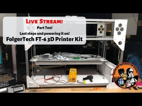Repeat The FolgerTech FT-6 Build Part Four! X and Y Assembly! by