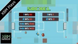 Socxel Pixel Soccer - XBM Plays - Xbox One