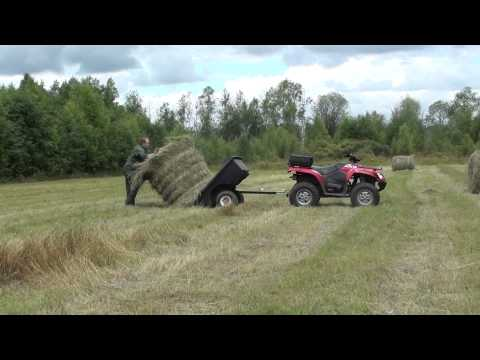 КВАДРОЦИКЛ arctic cat 650 h1 с прицепом. лето 2013г.