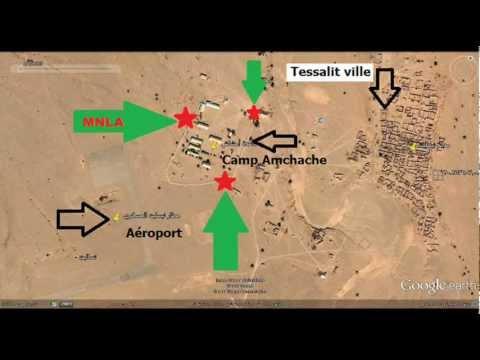 Tessalit tombée sous contrôle d'Ansar Dine et MNLA 2012