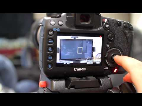 Canon 5d Mark III Touch Pad for quiet exposure changes