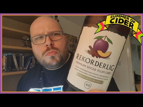 Rekorderlig Spiced Plum Cider Review | Summer Of Cider