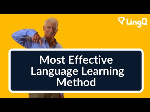The Most Effective Language Learning Method