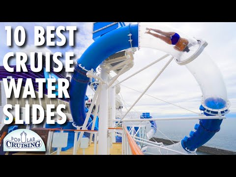 10 Best Cruise Ship Water Slides ~ Top 10 Countdown ~ Cruise Ship Tour & Review