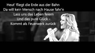 Helene Fischer - Feuerwerk (lyrics)