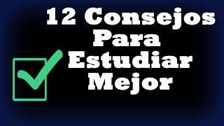 12 Consejos Para Estudiar Mejor y Aumentar el Rendimiento Mental - Desarrollo personal, Trucos, tips