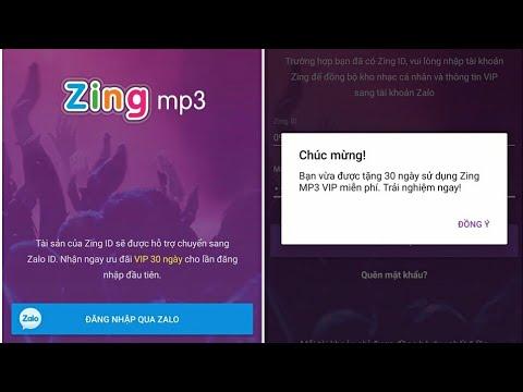 Lập tài khoản Zing VIP Free dùng trong 1 năm bằng điện thoại.