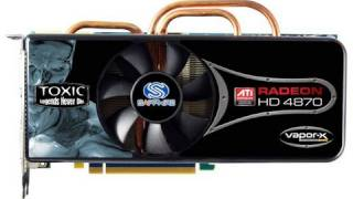 overclocked hd 4870 1gb sapphire toxic ed review