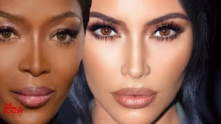 Naomi Campbell SHADED Kim Kardashian For Stealing Her Style!
