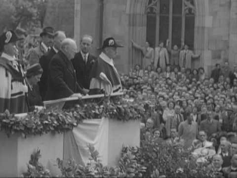 Churchill speaking about the EU (European Union)