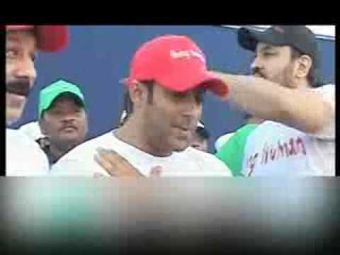 Video - Salman Khan Kicks Off 'Mumbai Cyclothon' www.dailymaza.com.flv