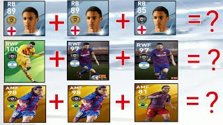 What Happens When We Trade Same 3 Players With Different Featured Player Cards | Pes 2020 Mobile