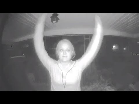 10 Scary Encounters Caught By Security Cameras
