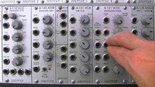 Doepfer A121 Multimode Filter Basics