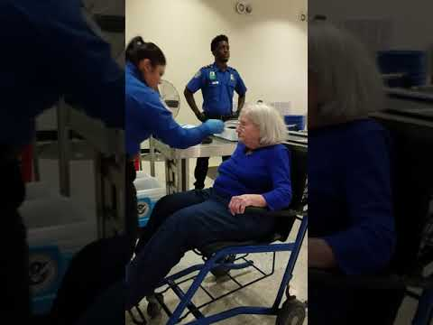 TSA assaults 96 year old... disgusting!
