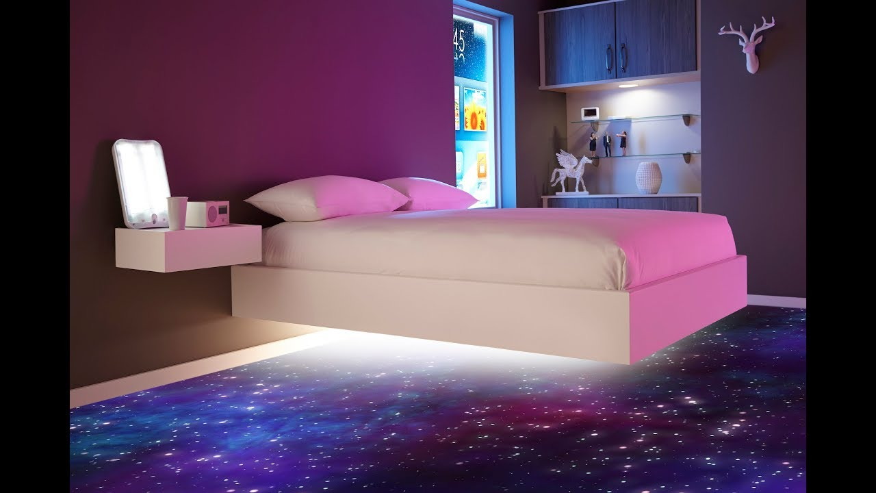 Awesome Teenage Girl BEDROOM Ideas - YouTube on Cool Bedroom Ideas For Small Rooms  id=98835