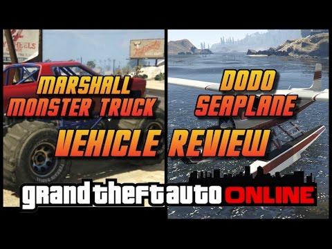 GTA Online[GTA5] Marshall Monster truck / Dodo Seaplane - Free For Returning Players