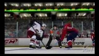 NHL 2K8 new videos clip