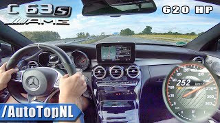 620HP C63 S AMG Coupe Elmerhaus AUTOBAHN NO SPEED LIMIT by AutoTopNL