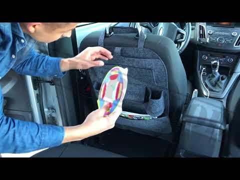 Мултифункционален органайзер и протектор за седалка на кола