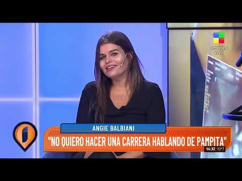 Angie Balbiani, actriz,