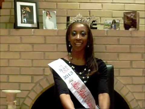 Ariel Fuller: Miss Black Chicago Southland delegate for Miss Black Illinois  USA 2013