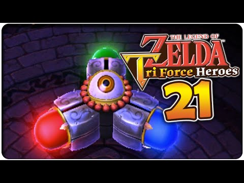 Let's Play THE LEGEND OF ZELDA TRI FORCE HEROES Part 21: Unterwelttempel & Festungs-Mission