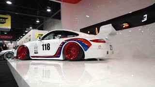 Impressive Wrap SEMA 2017 - Old and New Porsche 997