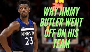 Why Did Jimmy Butler Lose It At Practice?