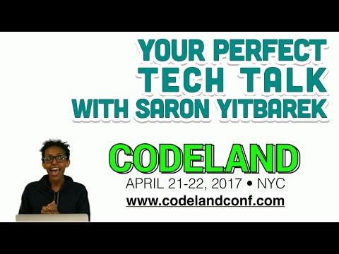 Your Perfect Tech Talk with Saron Yitbarek